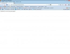 esempio di prima pagina in html