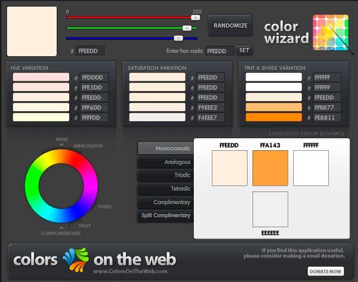 colorsontheweb