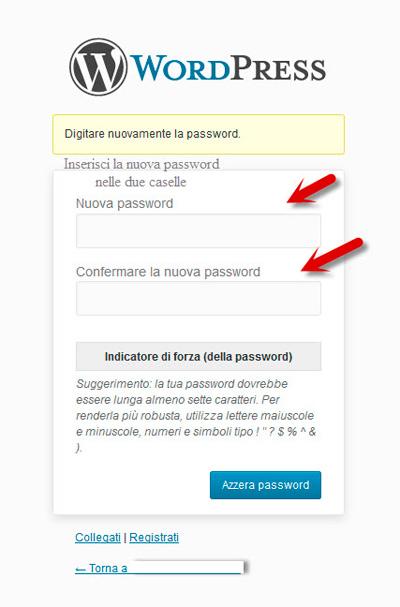 wordpress-login-nuova-password