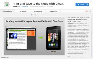 CleanSave per google drive