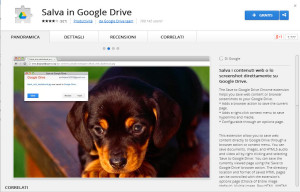 save to google drive